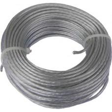 ΣΥΡΜΑΤΟΣΧΟΙΝΟ ΑΠΛΩΜΑΤΟΣ 50m - 6mm PVC-ZINC