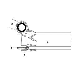 Αλυσίδα για κλειδί 12  BETA (Β003860016)