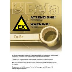Mαχαίρι Aντισπινθηρικό Beta 017760801