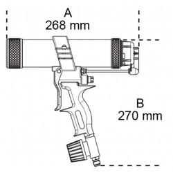 Πιστόλι Σιλικόνης Αέρος Beta 1947H 019470011