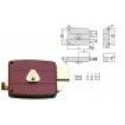 ΚΛΕΙΔΑΡΙΑ CISA LOCKINGLINE 50161-50/SF Κ50 ΤΕΤΡΑΓΩΝΗ