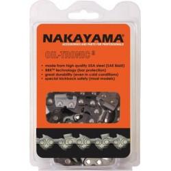 ΑΛΥΣΙΔΑ Nakayama BG13-S-057 Αλυσοπρίονου με Βήμα 3/8 LP, Πάχος Οδηγών .050 -1.3mm  KAI  Αριθμό Οδηγών 57Ε