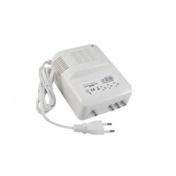 ANGA MASTER 20 Κεντρικός Ενισχυτής 4G LTE με εισόδους BI 30dB/115dB + BIII 30dB/115dB + UHF Ενίσχυση 35dB/115dB ρυθμιζόμενος Συμβατός με επίγεια ψηφιακή
