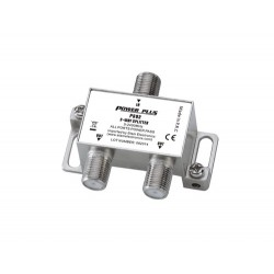Power Plus PS02 Splitter 2 Εξόδων 5-2400MHz Με διέλευση τάσης