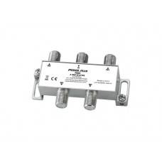 Power Plus PS04 Splitter 4 Εξόδων 5-2400MHz Με διέλευση τάσης