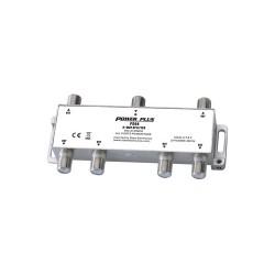 Power Plus PS06 Splitter 6 Εξόδων 5-2400MHz Με διέλευση τάσης