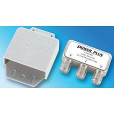 Power Plus S502 Splitter 2 Εξόδων ιστού με αδιάβροχη θήκη