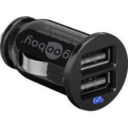 goodbay USB φορτιστής από τον αναπτήρα αυτοκινήτου 2.1A για γρήγορη φόρτιση κατάλληλο για Tablets  KAI  Smartphones, κάμερες και άλλες συσκευές 12V