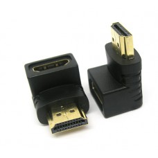 Adapter Power Plus CHA-011 HDMI (A) αρσενικό σε HDMI (A) θηλυκό 90 μοίρες