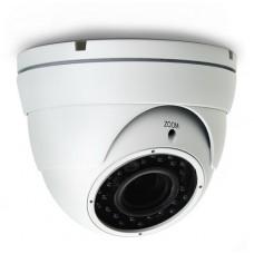 Kάμερα Dome AVTECH AVT1206TP TVI 1/2,7 CMOS 1080P, Φακός 2.8 - 12mm, ΙR Led 24PCS, 20 μέτρα, Αδιάβροχη IP66, 12V, 1Alarm In, 1 Alarm Out, Mεταλλική, Μικτό Βάρος: 648gr