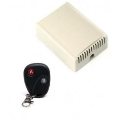 ANGA AG-X2CH Ασύρματη Εντολή Τηλεχειρισμού 12V (433MHz) 2 Καναλιών με τηλεχειριστήριο