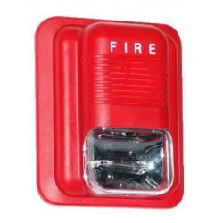 ANGA AG-L82 Εσωτερική Σειρήνα Fire με κόκκινο flash